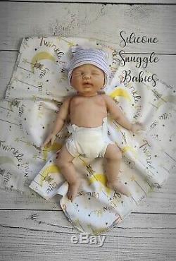 12 Micro Preemie Full Body Silicone Baby Girl Doll Charlotte
