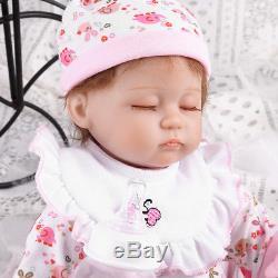 16 Realistic Reborn Baby Dolls Handmade Newborn Vinyl Silicone Girl Doll Xmas