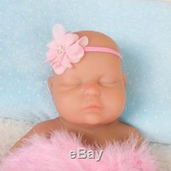 18.5/3.67kg IVITA Silicon Reborn Sleeping Baby Girl Doll Full Body Lifelike New