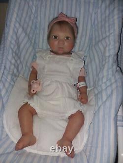 19 baby girl full body silicone reborn