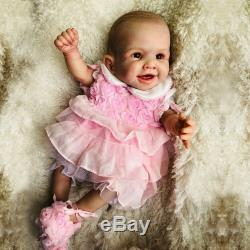 20 Full Body Real Touch Silicone Reborn Baby Doll Newborn Girl Christmas Gifts