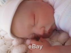 22 6lbs Floppy Reborn Baby Doll Lifelike Painted Hair Newborn Sunbeambabies