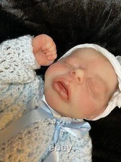 22 Inch Silicone Babys. Natalie Doll. Cuddle. Reborn. 1/4 Limbs. Not Full Body
