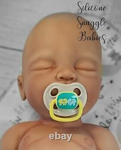22 Newborn Full Body Silicone Baby Girl Doll Riley