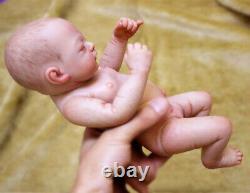 26cm Lifelike Full Body Soft Silicone Reborn Baby Doll 100% Waterproof Baby Girl