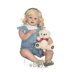 28'' Realistic Reborn Baby Doll Toddler Life like One Year Old Christmas gifts