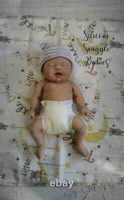 7 Micro Preemie Full Body Silicone Baby Boy Doll Jackson