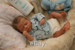 A Groovy Doll, Baby! Reborn Baby Boy Realborn Doll Pntd Hair