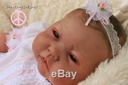 A Groovy Doll, Baby! Reborn Baby Girlreine Lau Painted Belly Plate