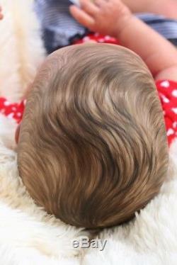 A Groovy Doll, Baby! Reborn Baby Girlso Realistic Rlbrn Priscillapntd Hair