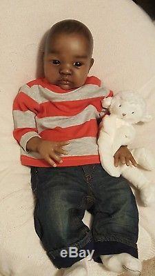 AA Reborn Baby Boy or Girl SHYANN Peterson by Brooke Nicole Izzy Zhao doll
