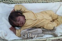 AA black Reborn baby lifelike art doll Johanna High Quality SOLD OUT handmade