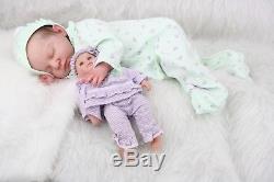 ADIRA by IVETA ECKERTOVA Beautiful Reborn Baby Doll with COA New Pictures