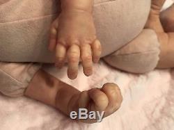 AMAZING Reborn Baby Doll Wolke By Karola Wegerich! Sweet Sunrise Nursery