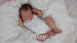 (Alexandra's Babies) REBORN BABY GIRL DOLL APRIL Joanna Kazmierczak LIMITED ED