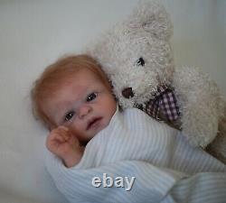 Amazing authentic silicone baby boy DANNY by Maria Lynn Grover Privilege Reborn