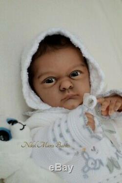 Amazing very rare LE biracial reborn baby doll MALEA by GUDRUN LEGLER IIORA