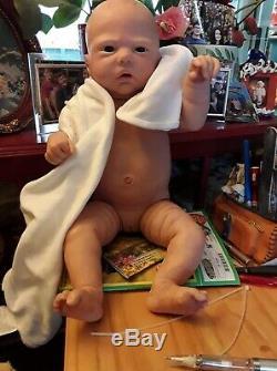Anatomically Correct Reborn 23 ROBIN By Nikki Johnson Baby Girl Doll