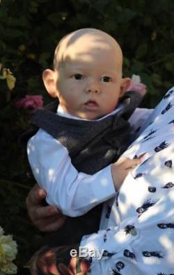 Artful Babies Custom Order Reborn Liam Brown Toddler Baby Boy Or Gir Doll