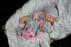Artful Babies Stunning Reborn Scarlett Brown Baby Girl Doll Iiora Est 2003