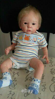 B803 Lovely Reborn Baby Boy Doll 22 Child Friendly Available now