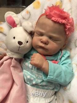 BEAUTIFUL Reborn Baby Doll Genevieve By Cassie Brace! Heaven's Breath Nursery
