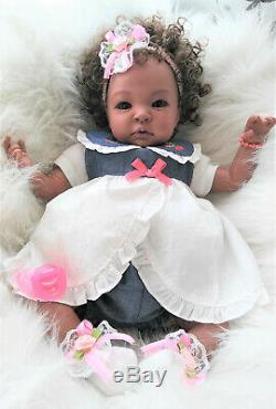 BIRACIAL Shyann (19 Reborn Doll) Ready to go Home