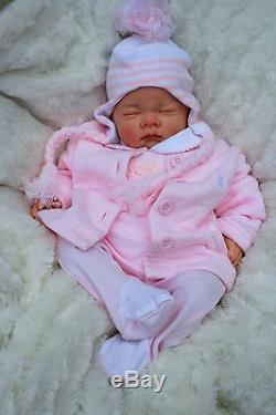 Butterfly Babies Stunning Reborn Baby Girl Doll Sofia In