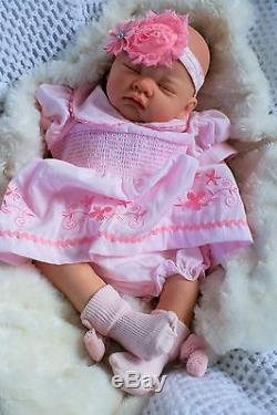 Butterfly Babies Stunning Reborn Baby Girl Doll Sofia Pink