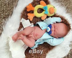 Baby Boy Crying Doll Berenguer 14 inch Real Alive Soft Vinyl Preemie LifeLike