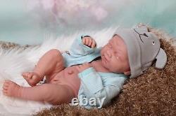 Baby Boy Crying Doll Newborn Berenguer 14 Real Reborn Vinyl Preemie LifeLike