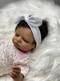 Baby Doll Biracial Rosalee By Olga Auer From Gladys Nursery Reborn Baby Dolls