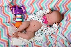 Baby Girl Doll Berenguer 14 Real Alive Soft Vinyl Silicone Preemie LifeLike