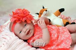 Baby Girl Smiling Soft Doll Real Reborn Berenguer 15 Inch Vinyl Lifelike Alive