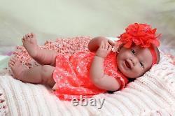 Baby Girl Smiling Soft Doll Realistic Reborn Berenguer 15 Vinyl Lifelike Alive
