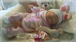 BabyGirl Reborn Reallife Oster Baby Hase von U. L Krautter Babypuppe Geschenk