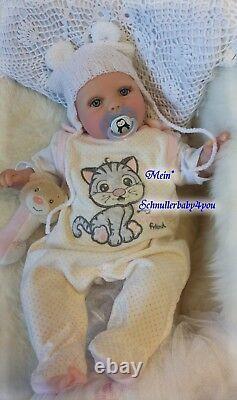 BabyGirl Reborn Reallife Oster Baby von U. L Krautter Babypuppe Puppe Geschenk