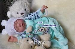Babyboy Reborn Reallife Baby Boy BS von U. L Krautter Babypuppe Puppe