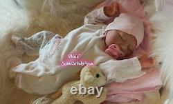 Babygirl Reborn Reallife Oster Baby Girl von U. L Krautter Babypuppe Puppe