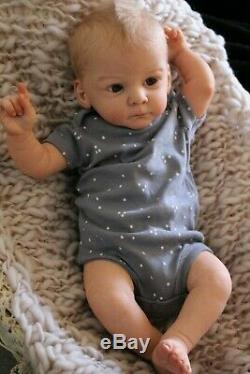 Beach Babies Reborn Baby Doll From Mathis By Gudrun Legler. Can Be Boy or Girl
