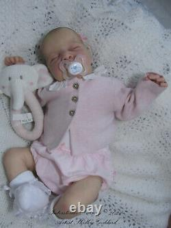 Beautiful Brand New Reborn O/E Baby Levi x Bonnie Brown GHSP, COA. Adorable