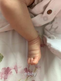 Beautiful Reborn Baby Girl Smilla By Sabine Altenkirch Reborn Bonnebellebabies
