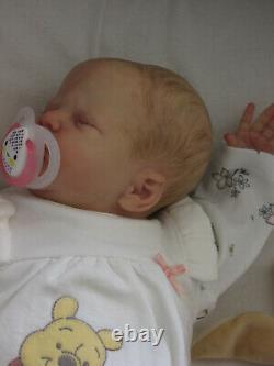 Beautiful Reborn L/E Baby girl GRETEL x Emily Jameson GHSP New Release