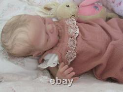Beautiful Reborn L/E Baby girl MACIE x Cassie Brace 126/2021 GHSP New Release