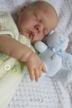 Beautiful Reborn L/E Baby girl Willa x Cassie Brace 981/1800 GHSP New Release