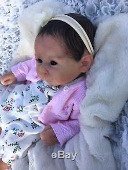 Black Friday Reborn Doll 20 Truly Sherry Rawn Ltd Girl Fake Baby Painted Hair
