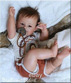 Bluebonnet Babies REBORN Doll Ethnic Baby boy Kaia by Ping Lau