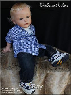 Bluebonnet Babies Reborn Doll Mattiaprototype By Gudrun