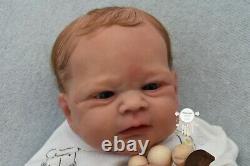 Bohemian Babies Reborn baby boy Elijah by Joanna Kazmierczak