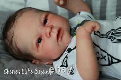 CHERIE'S LITTLE BLESSINGSReborn DollReborn BabyELIJAHby Johanna Kazmierczak